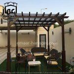 Read more about the article مظلات جلسات حدائق بتصاميم راقية من مؤسسة إعمار الهندسية